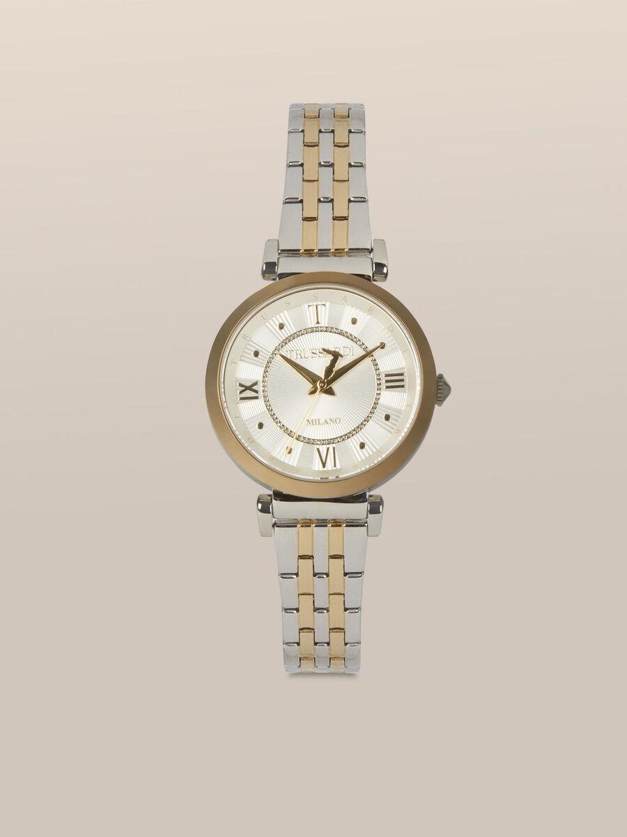 34 MM T-Twelve watch in steel