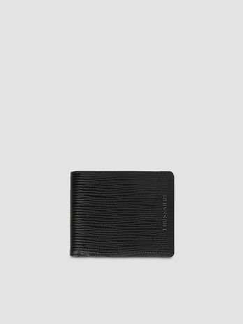 Faux saffiano leather Cortina wallet