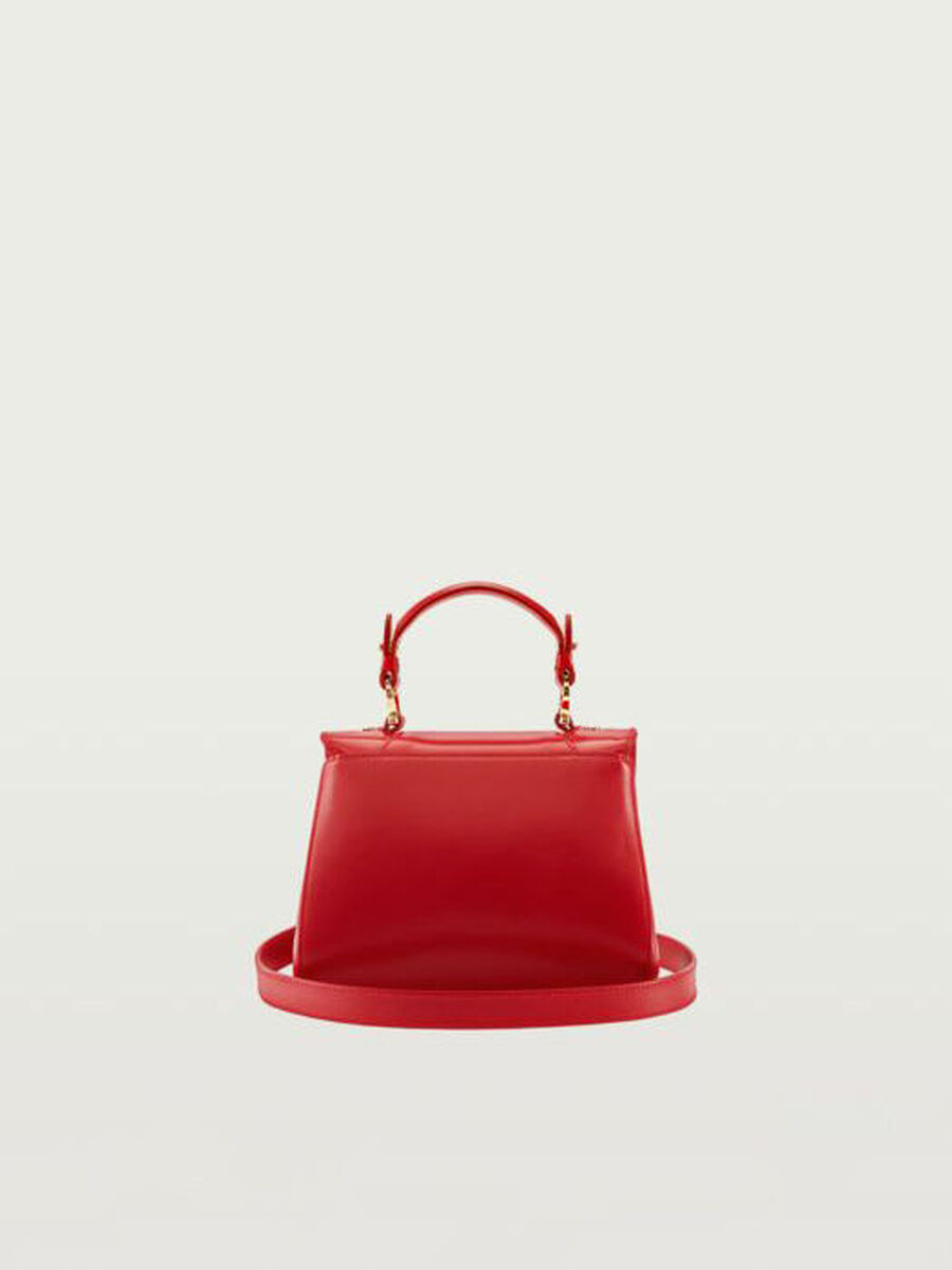 Mini Lovy Fighters bag in Crespo leather
