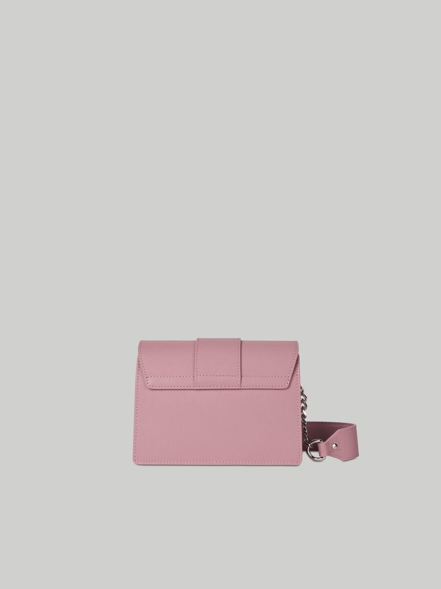 Mini bag Milano in cuoio e suede