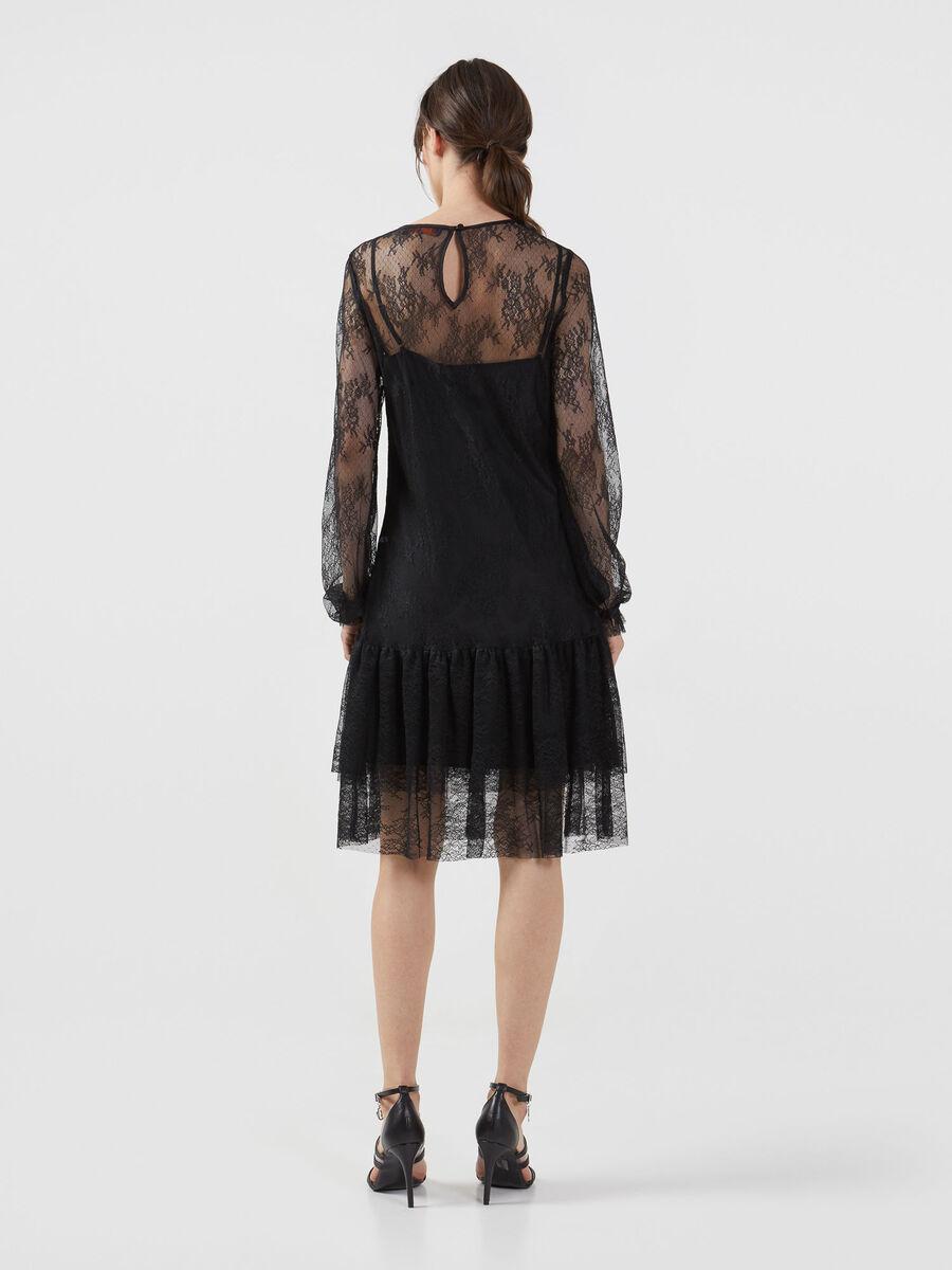 Light lace dress