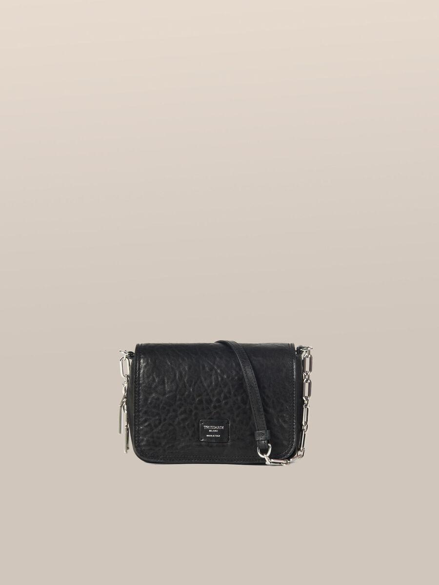 Small Biker Cacciatora bag in lux sheepskin