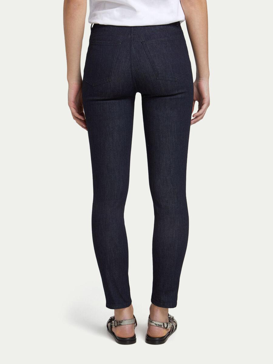 Jeans skinny fit in denim a cinque tasche