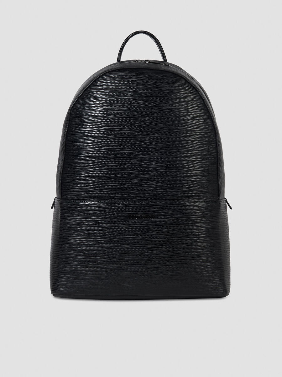 Medium Cortina backpack in faux saffiano leather