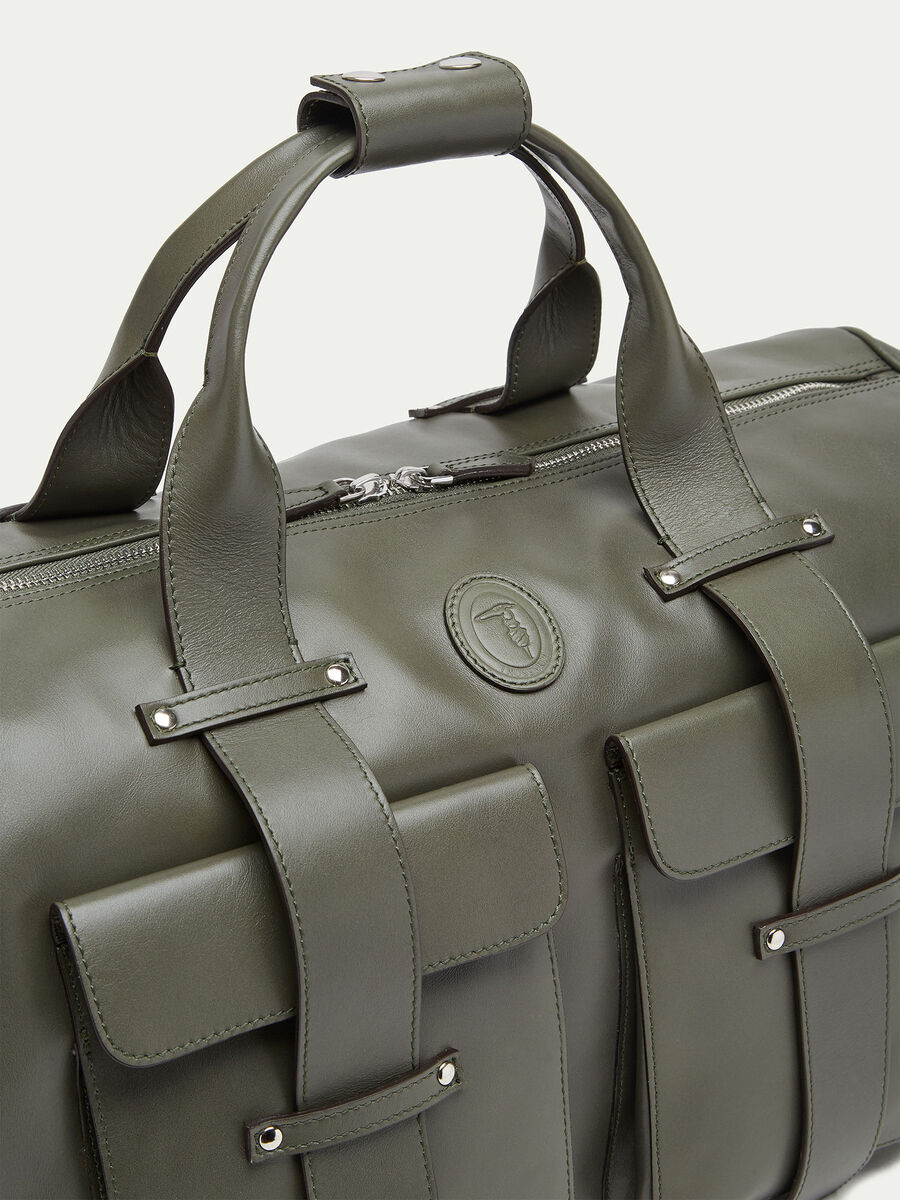 Tresor calfskin Boston carry all