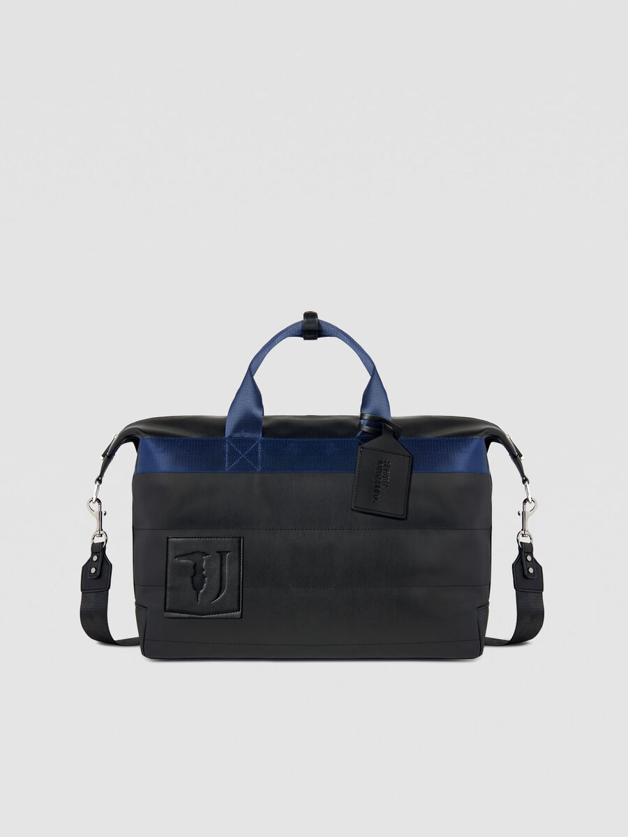 Medium Tici travel bag in faux leather
