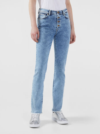 Jean 105 en denim 80s stretch