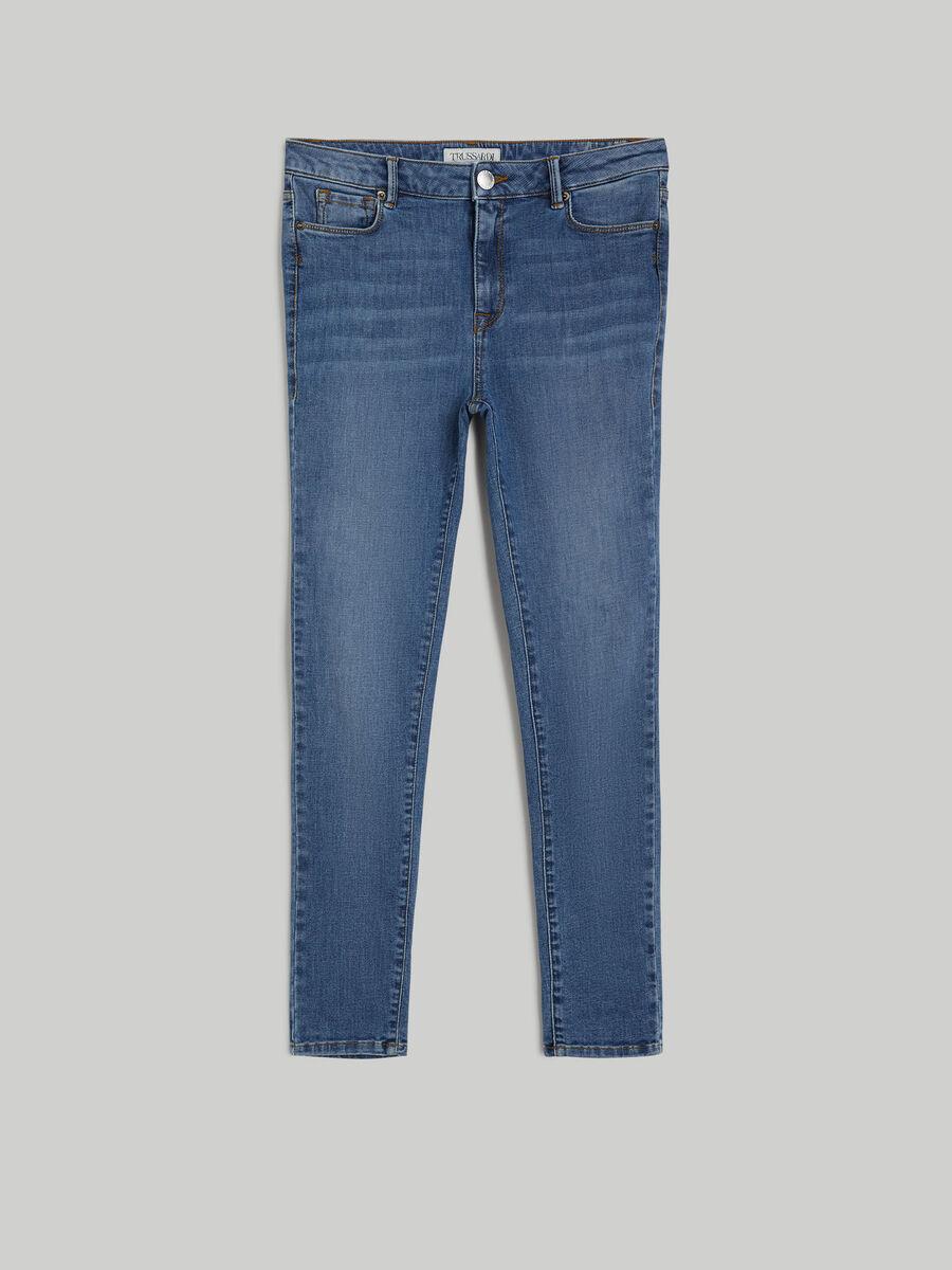 Super-skinny New 206 jeans in twill denim