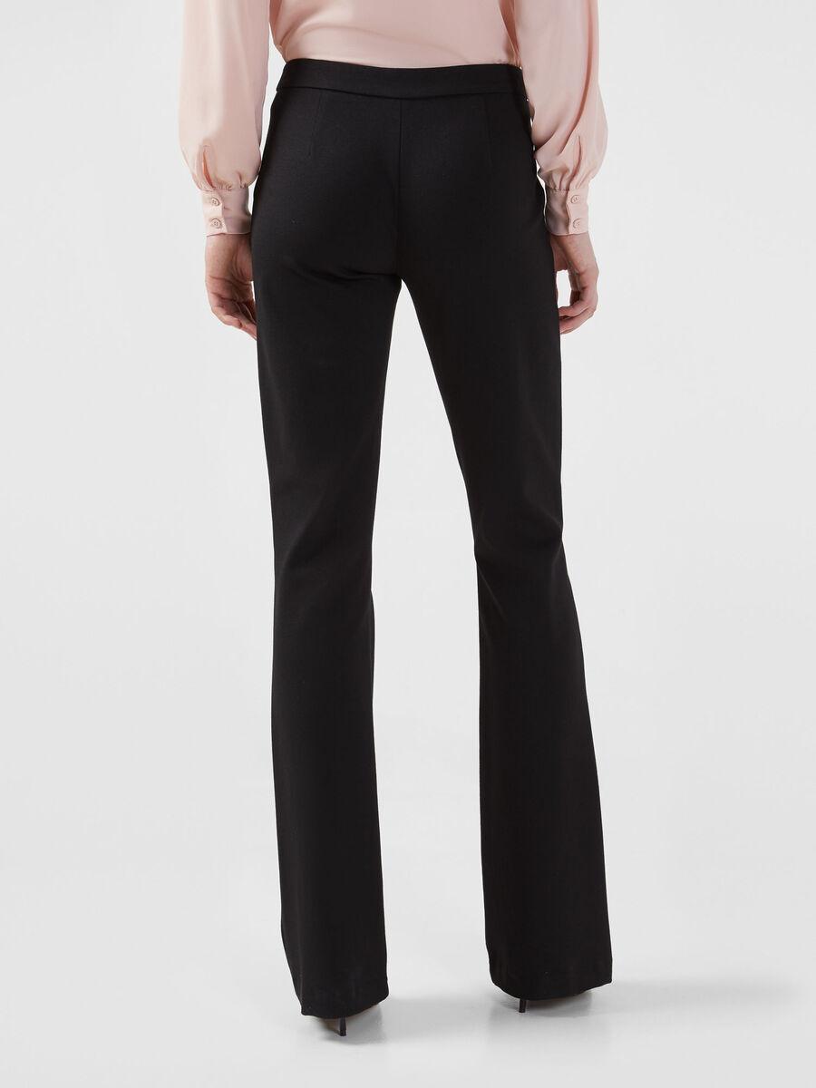 Hose aus kompaktem Jersey