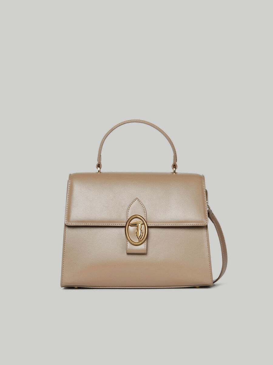 Handtasche Grace Medium aus glattem Kunstleder