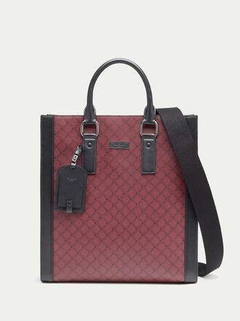 Crespo leather Monogram tote bag