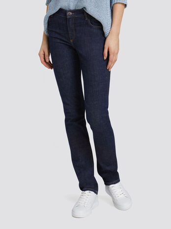 Classic Seasonal 130 jeans in blue washed denim