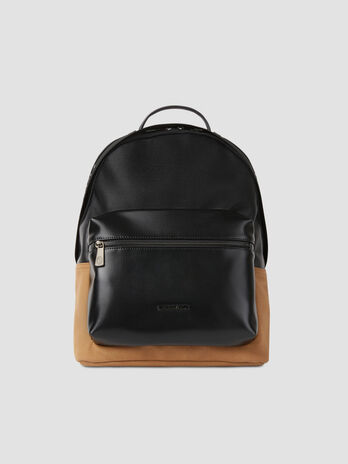 Medium faux leather Sestriere backpack