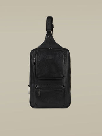 One-Shoulder-Rucksack Business Medium aus Leder