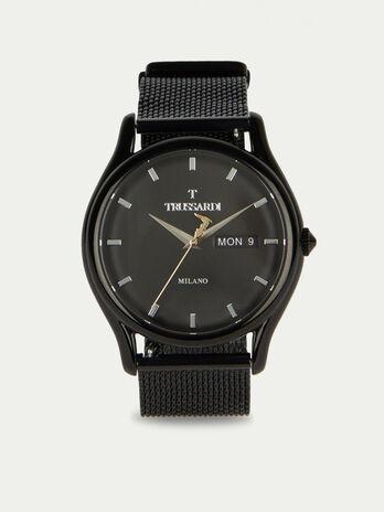 Montre T-Light a bracelet en maille milanaise