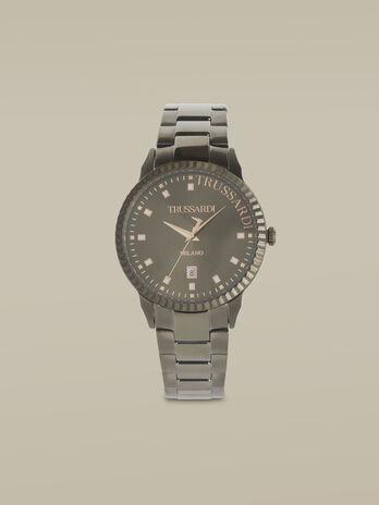 Montre T-Bent 43MM a bracelet en acier