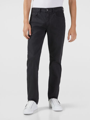 Icon 380 jeans in houndstooth gabardine