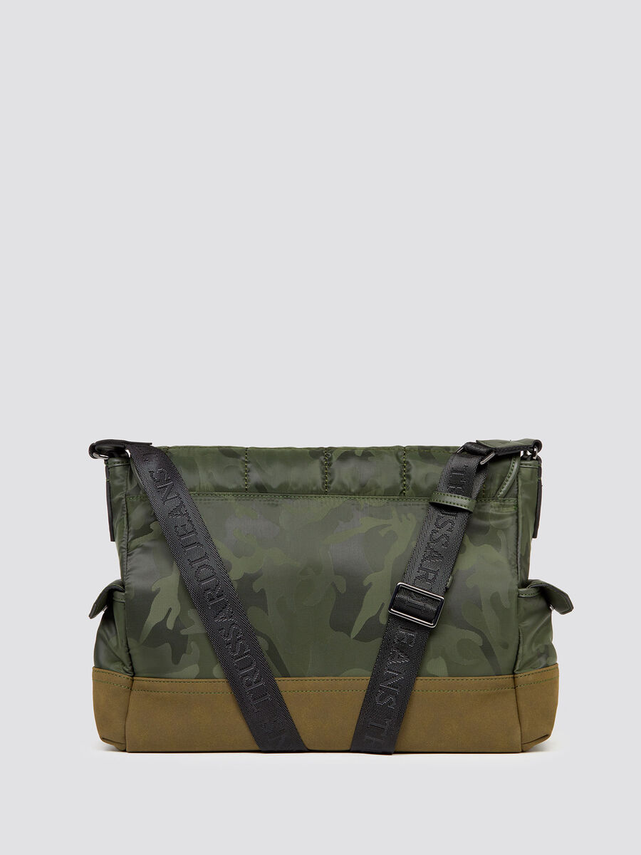 Ticinese camouflage Messenger bag