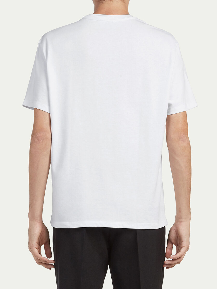 Oversized T shirt with lettering