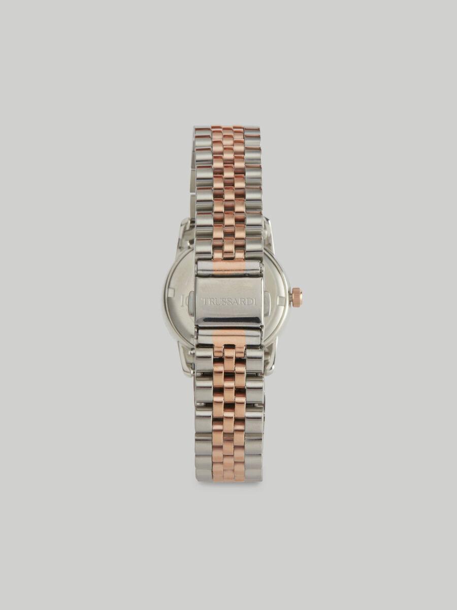 30-mm T-Joy watch with steel strap