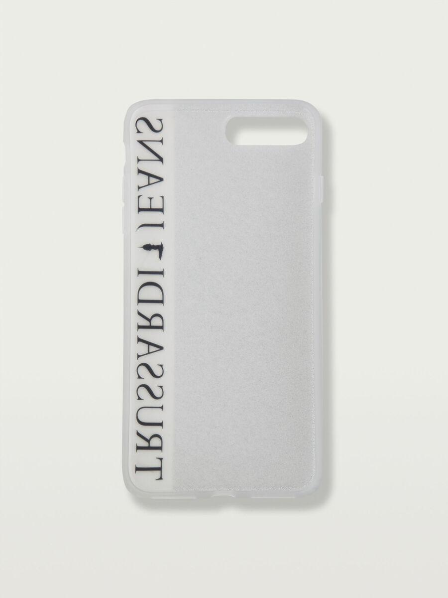 Glittery iPhone 7 Plus soft case