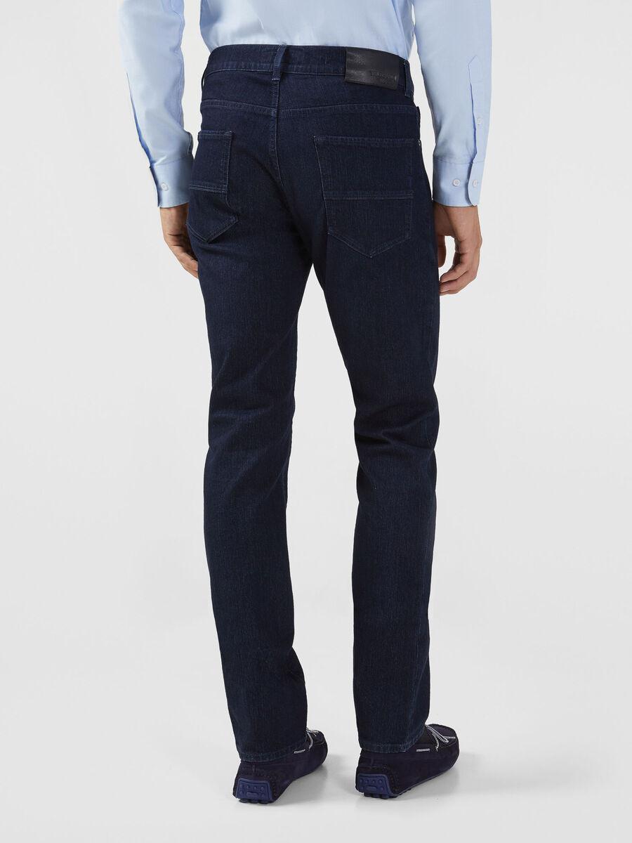 Jeans 380 Icon in denim blu scuro