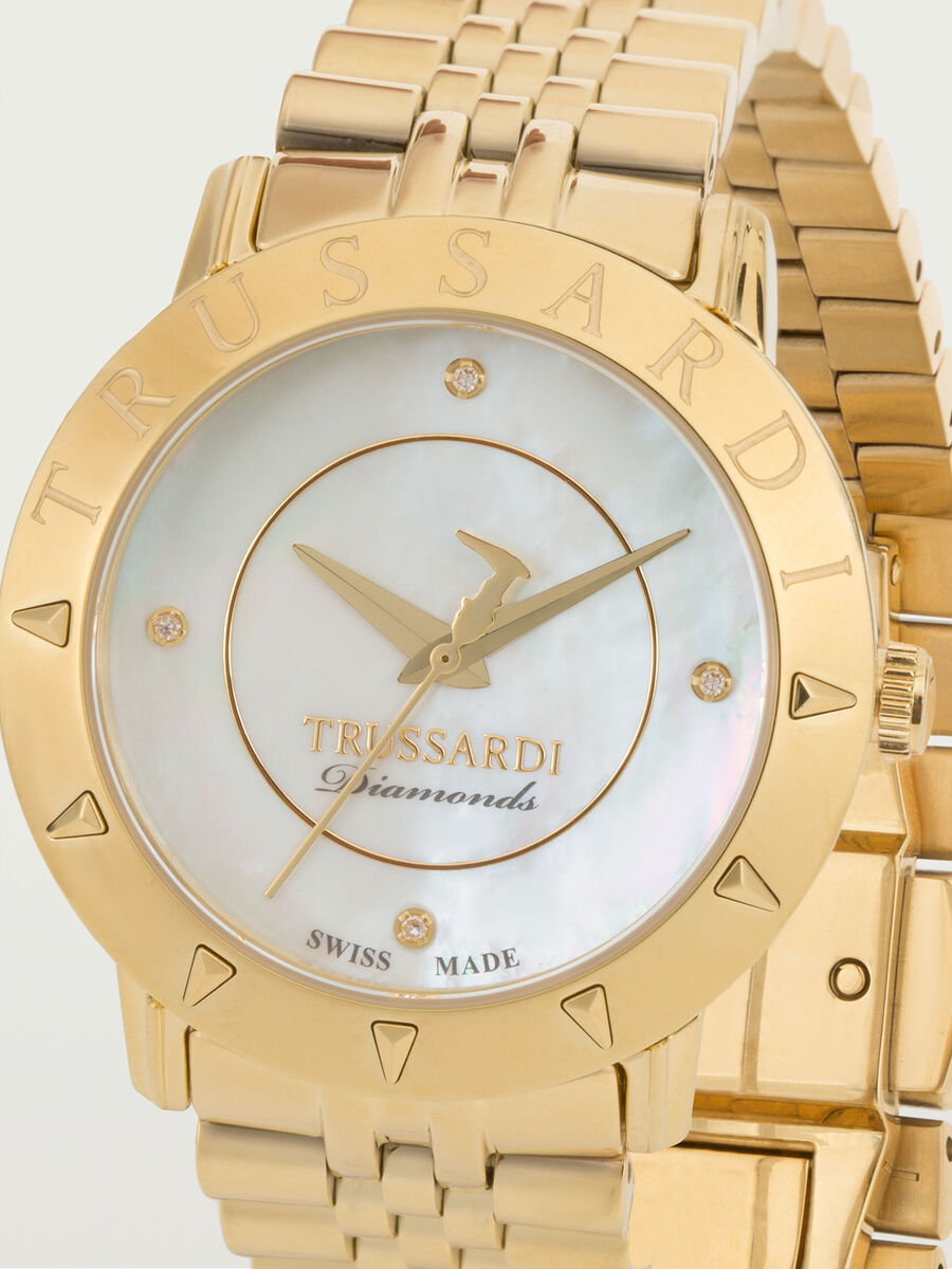 Gold-tone Sinfonia watch