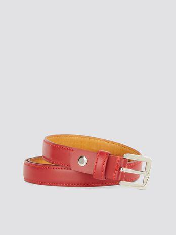 Leather Entry Level belt with belt loop