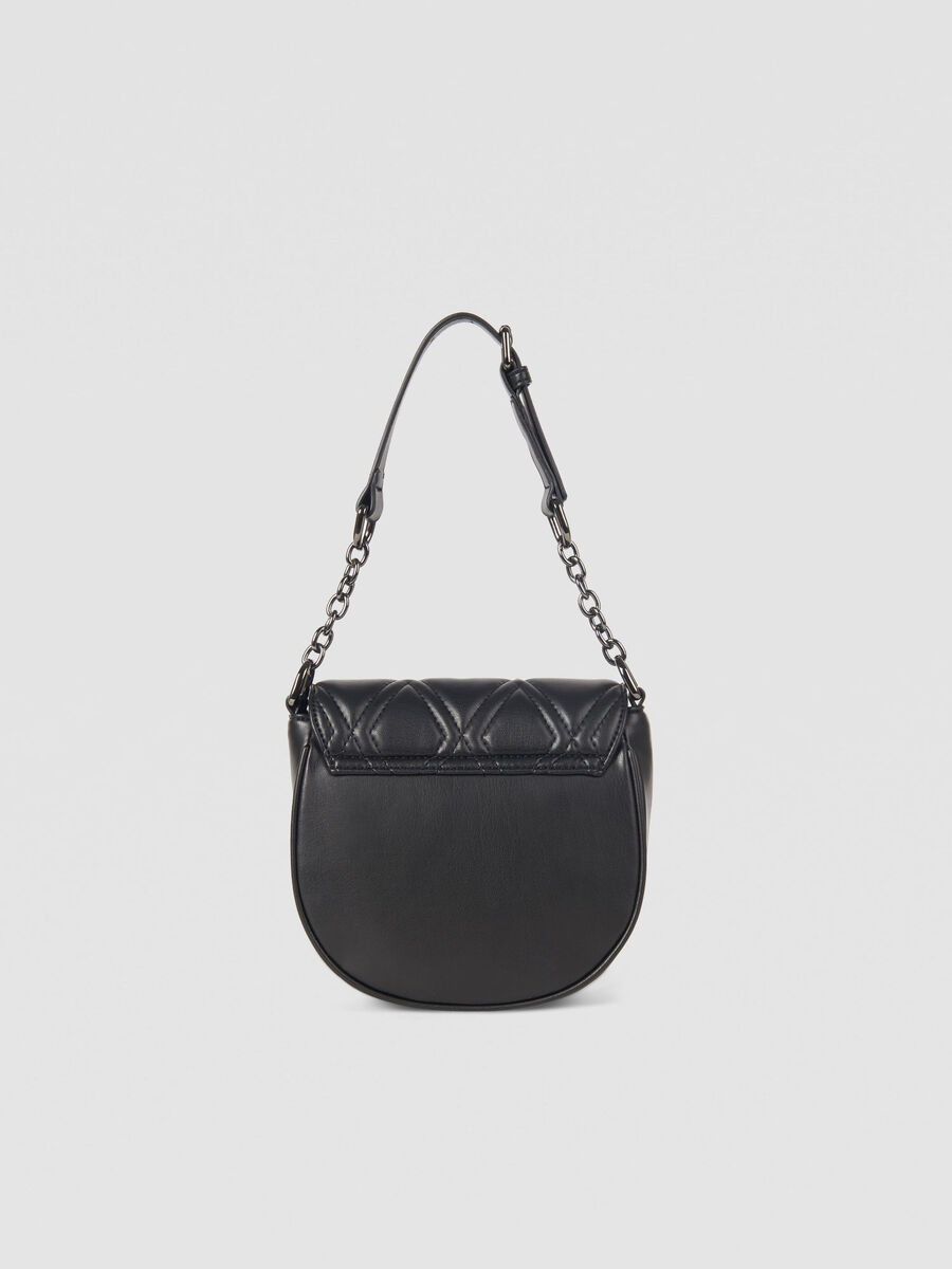 Small T-Cube Q Cacciatora bag in faux leather