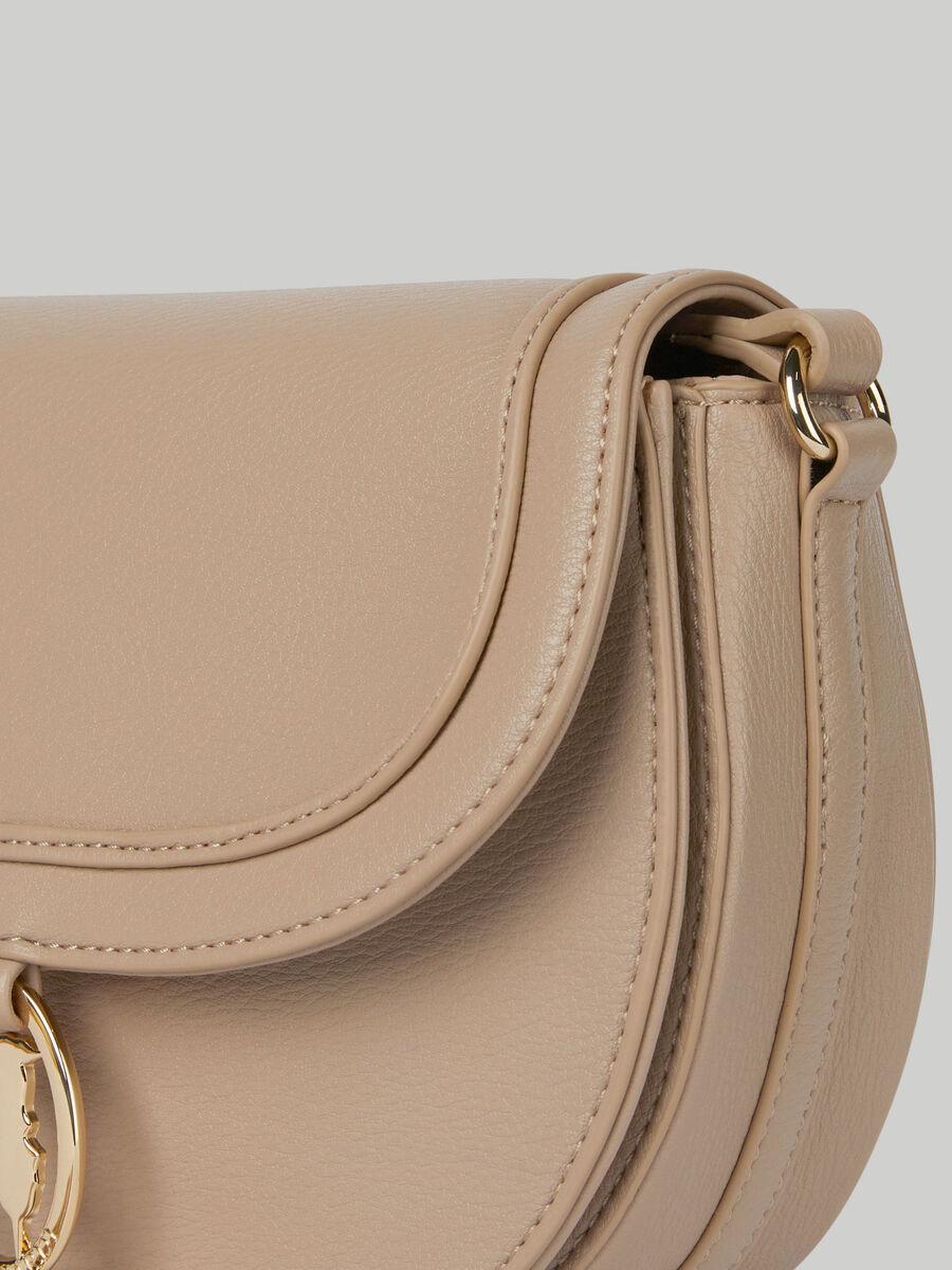 Medium Ellie crossbody bag with deerskin print