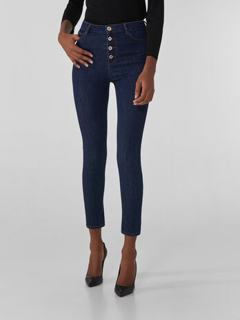 High-waisted Sophie 208 jeans in Kate denim