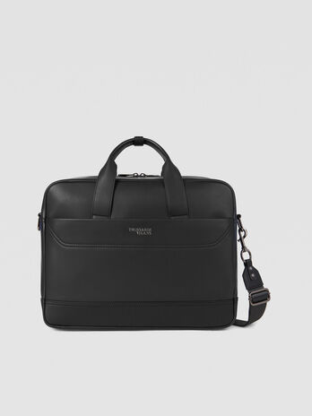 Bolso Business City de piel sintetica mediano