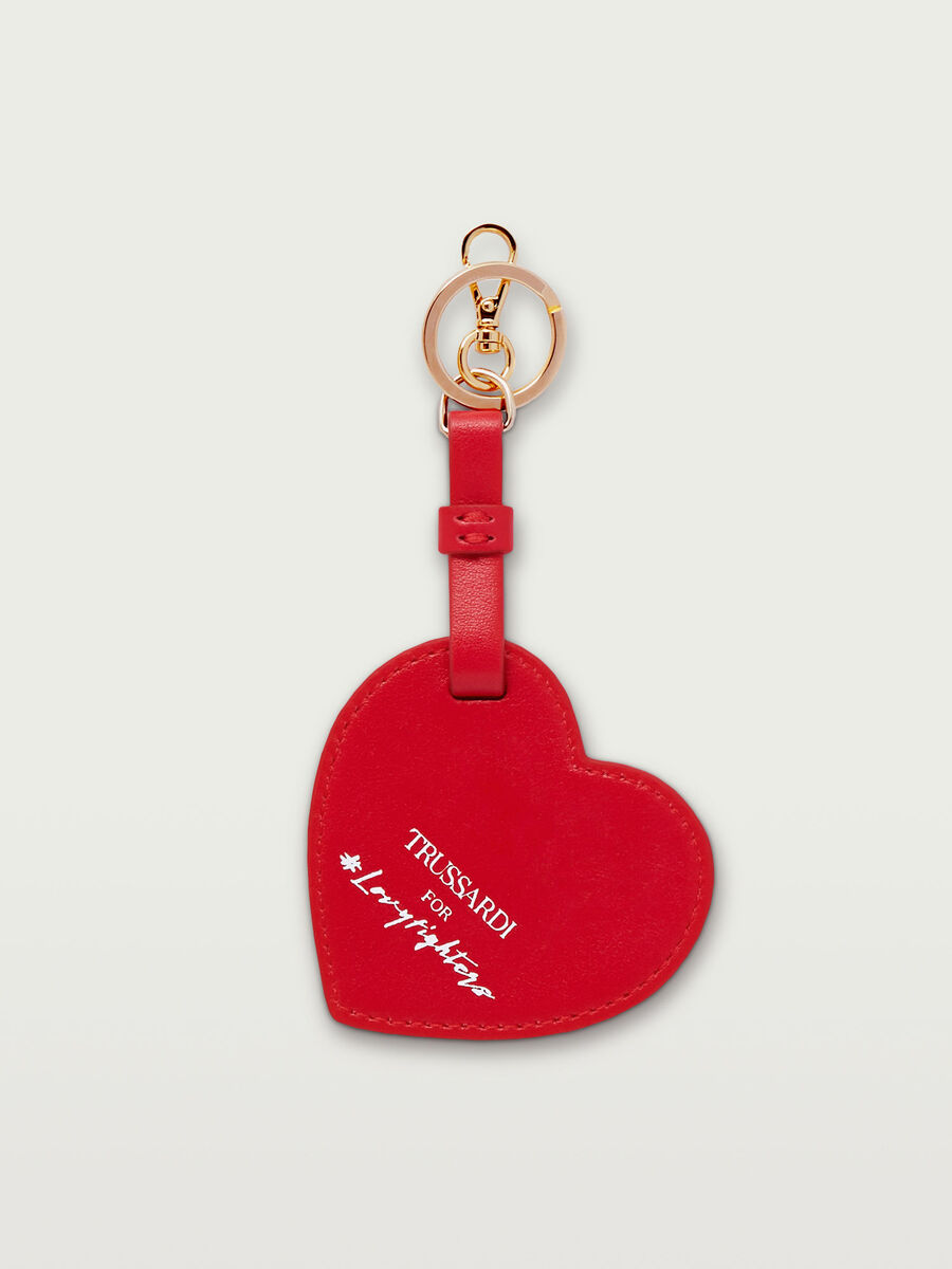 Lovy Fighters keyring in Crespo leather