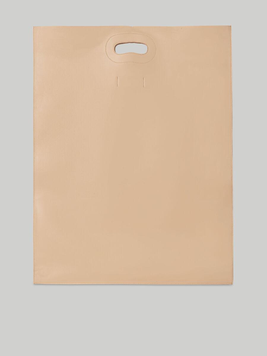 Trussardi Nuwev shopper in monochrome nappa leather