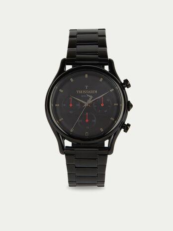 Orologio T-Light cronografo con bracciale in acciaio