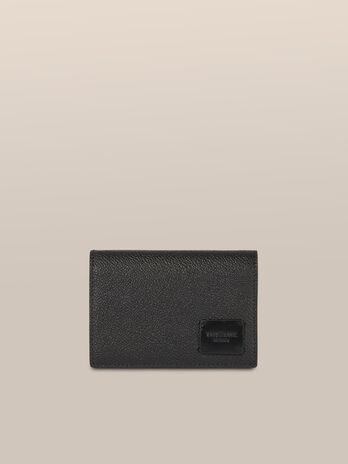 Porta carte Business medium in pelle crespo