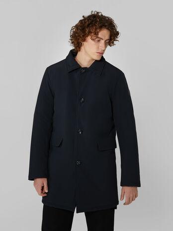 Matte neoprene car coat