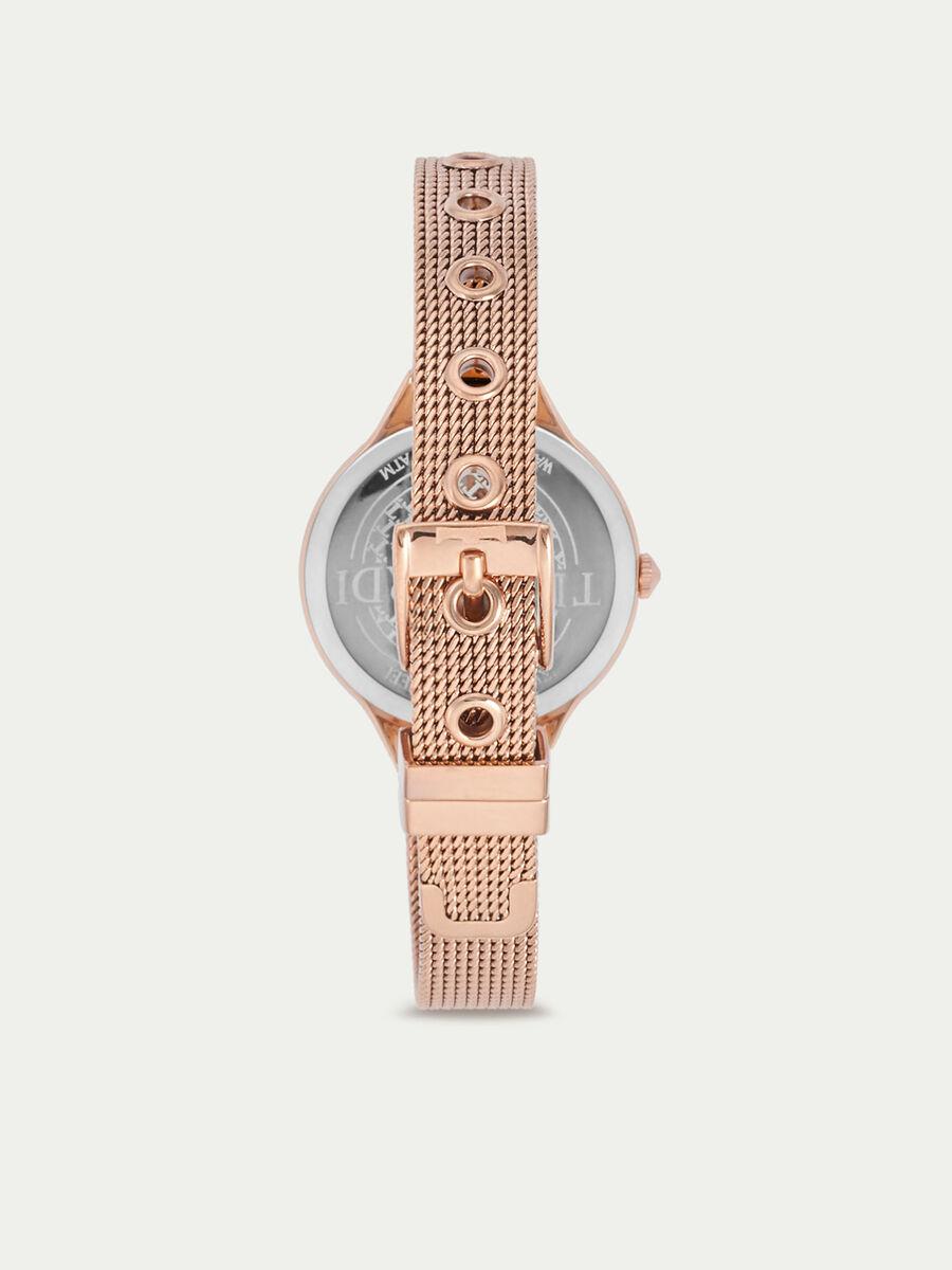 Uhr T Queen mit Milanaise Armband