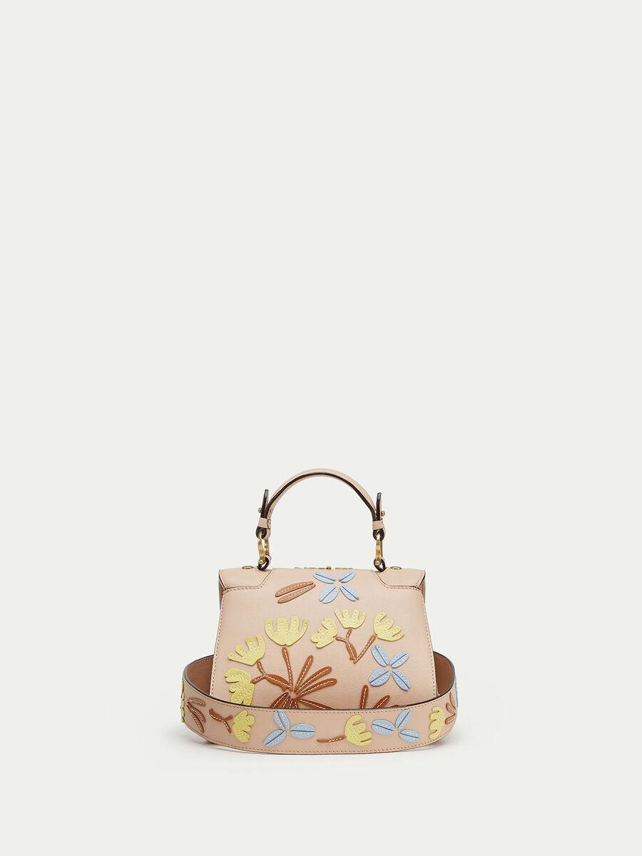 Mini Lovy Bag in velvet calfskin