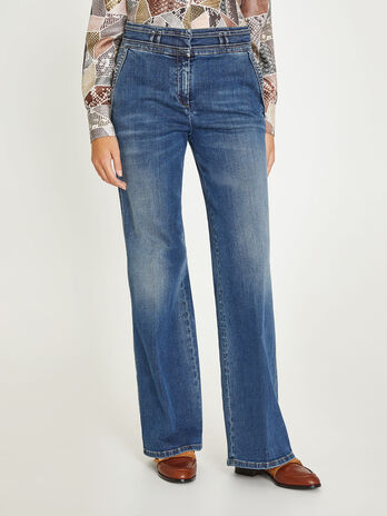 Palazzo fit Jeans