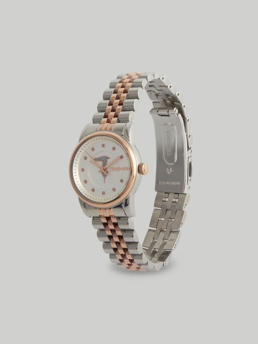 Montre T-Joy 30 MM a bracelet en acier