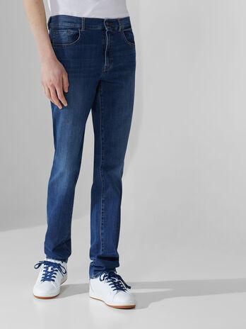 Icon 380 jeans in light blue Cross Caroline denim
