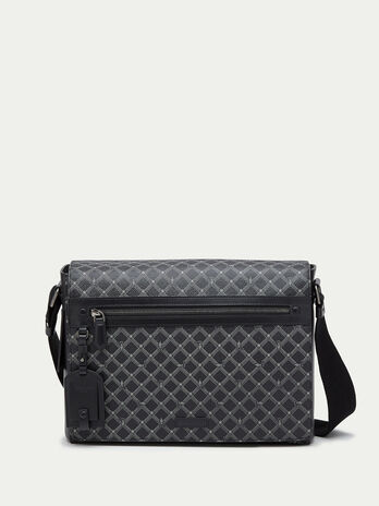 Crespo leather Messenger Monogram bag