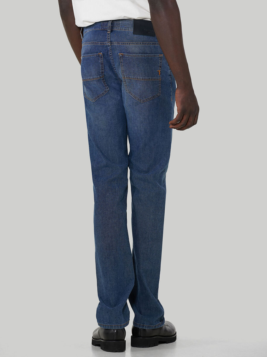 Jeans 380 Icon aus Canvas-Baumwolldenim