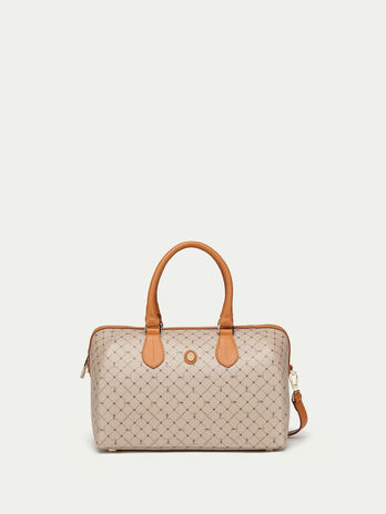Crespo leather Monogram doctor bag