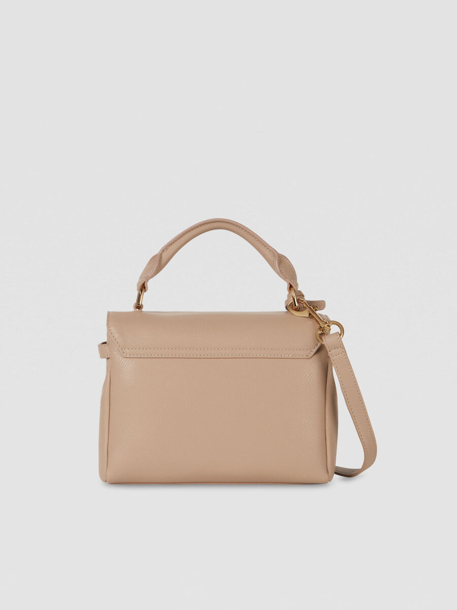 Small T-Easy Light top handle bag in faux leather