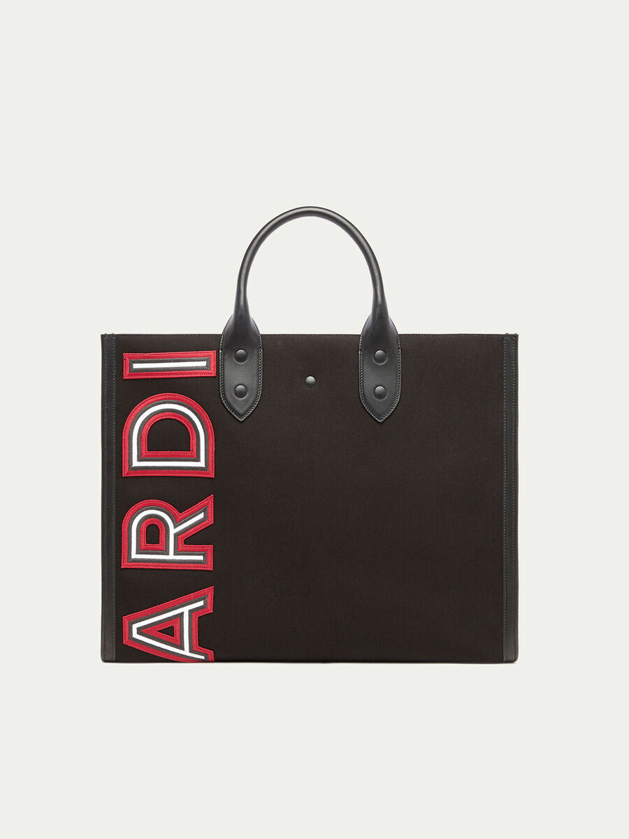 Shopping Bag con patch logata