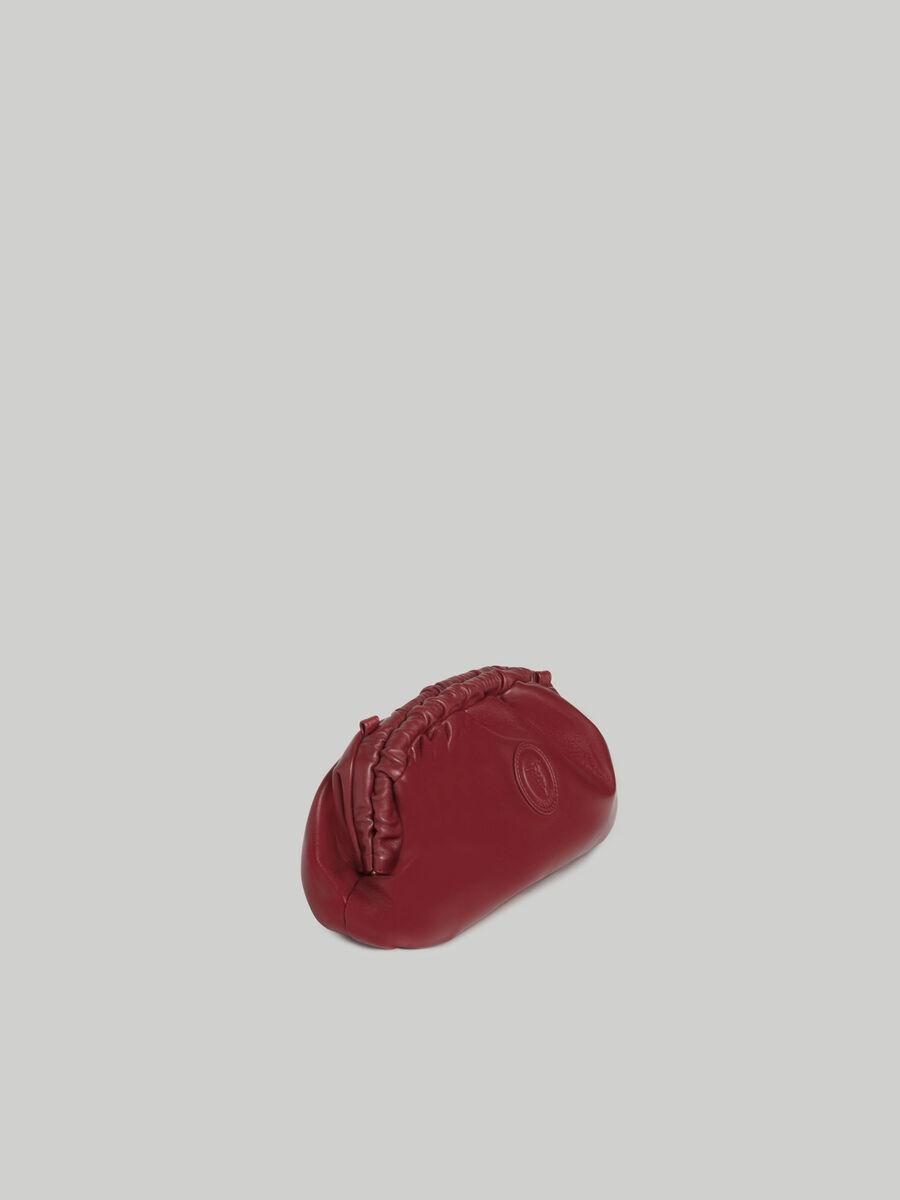 Pochette Thalia petit format en cuir nappa