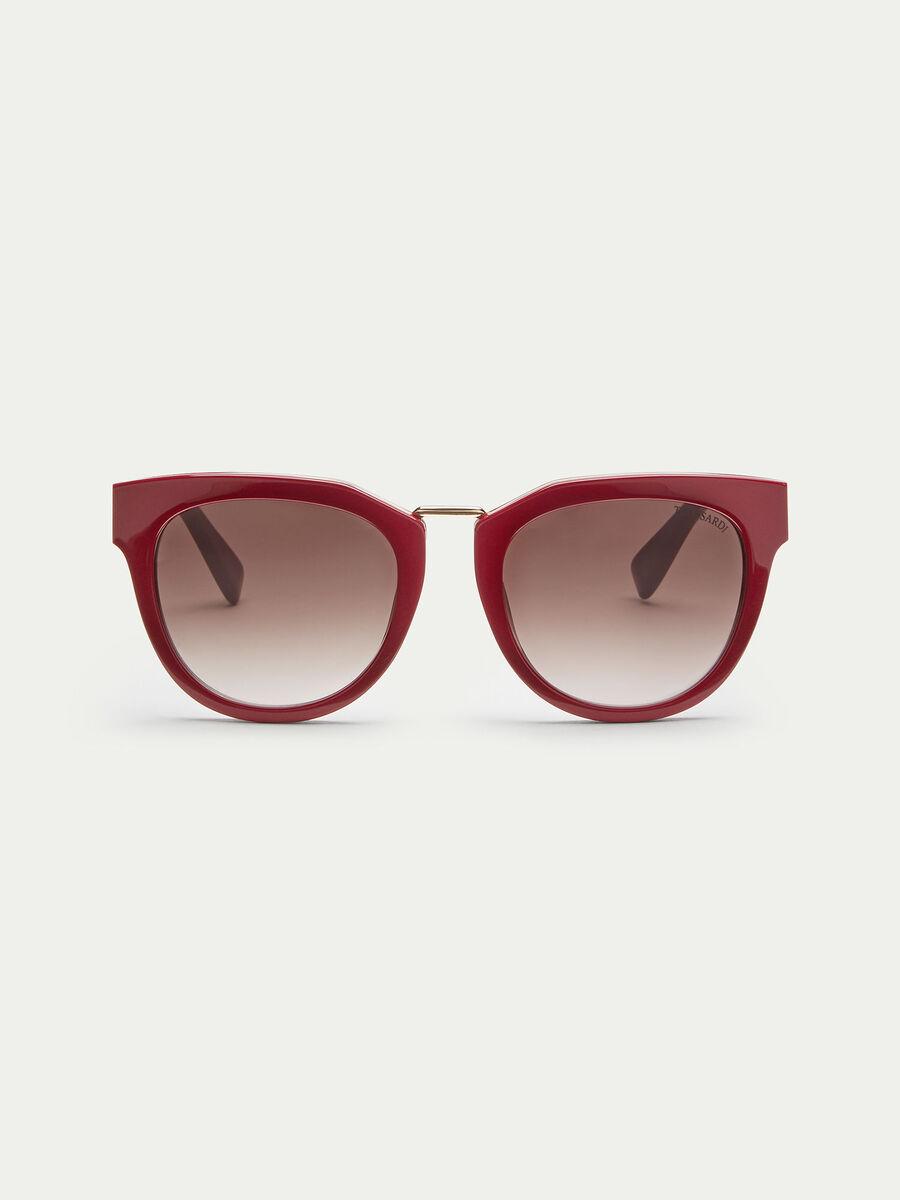 Sonnenbrille mit Profil und Logo