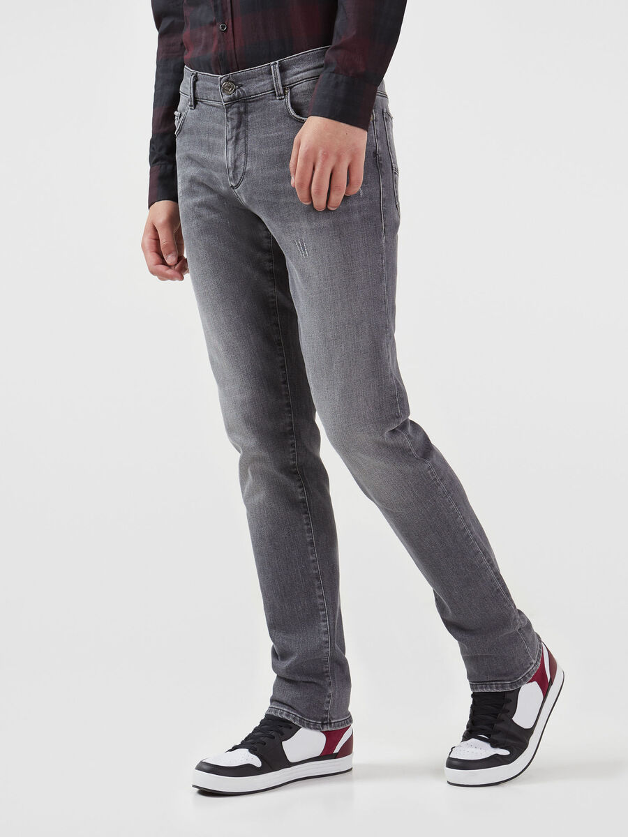Jeans 370 Close in denim Dave nero